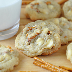White Chocolate and Butterscotch Chip Pretzel Cookies_FG