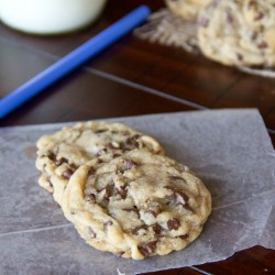 Perfect Chocolate Chip Cookie 3 square