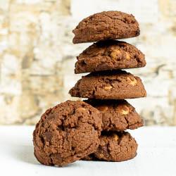 Quadruple Chocolate Shortbread Cookies 2-250px