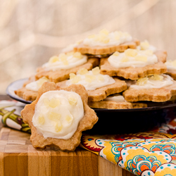 Frosted Pineapple Shortbread Cookies 4-250px