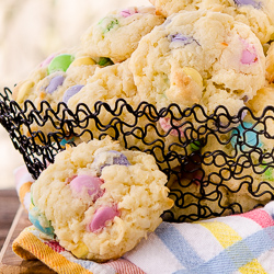 Chocolate Candy Coconut Cookies 2-250px
