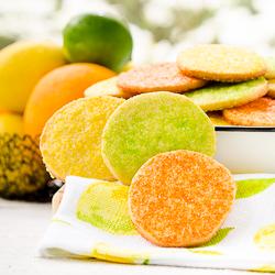 Sunshine Citrus Cookies 1-250px